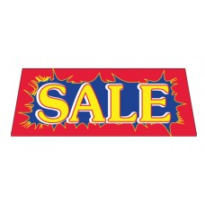 SALE RYB Car Window Banner