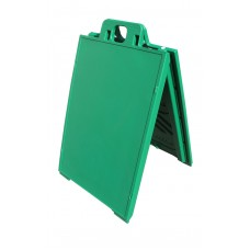 Signicade A-Frame Sidewalk Sign Green Frame Only