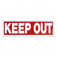 Keep Out Policy Business Sign