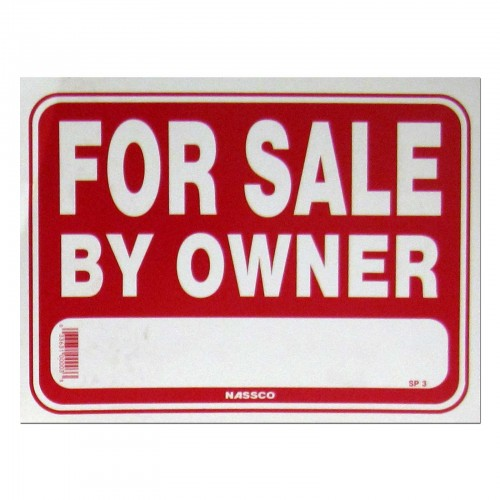 For Sale By Owner Policy Business Sign (SIGN-SP3)