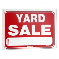 Yard Sale Policy Business Sign