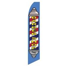 Barber Shop Swooper Flag