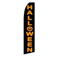 Halloween Pumpkin Swooper Flag