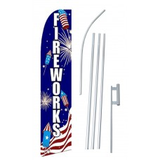 Fireworks USA Swooper Flag Bundle