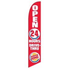 Burger King Red Swooper Flag