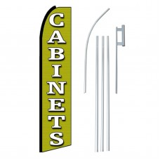 Cabinets Extra Wide Swooper Flag Bundle