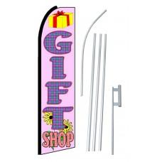 Gift Shop Extra Wide Swooper Flag Bundle