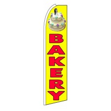 Bakery Extra Wide Swooper Flag