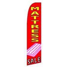 Mattress Sale Extra Wide Swooper Flag