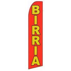 Birria(Goat/Lamb) Extra Wide Swooper Flag
