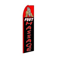 Foot Massage Extra Wide Swooper Flag