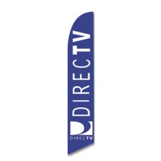 Direct TV Windless Swooper Flag