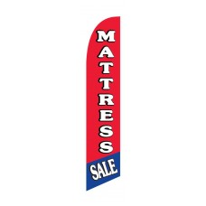 Mattress Sale R/B Windless Swooper Flag