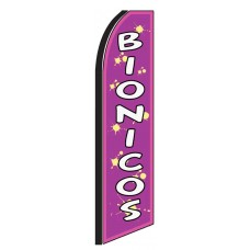 Bionicos(Smoothies) Extra Wide Swooper Flag