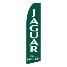Jaguar Green Swooper Flag