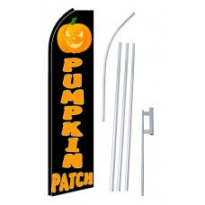 Pumpkin Patch Extra Wide Swooper Flag Bundle