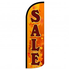 Sale Fall Theme Extra Wide Windless Swooper Flag
