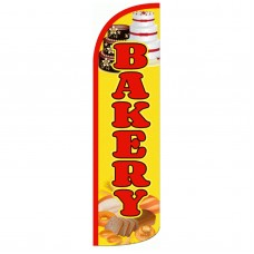 Bakery Extra Wide Windless Swooper Flag