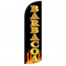 Barbacoa(BBQ) Extra Wide Windless Swooper Flag