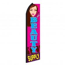 Beauty Supply Swooper Flag