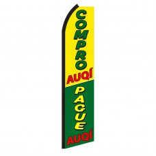 Compro/Pague Auqi Swooper Flag
