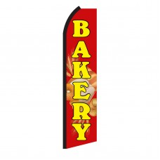 Bakery Red & Yellow Swooper Flag