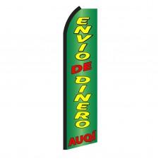 Envio De Dinero Auqi Swooper Flag