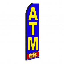 Atm Here Swooper Flag