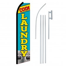 Coin Laundry Swooper Flag Bundle