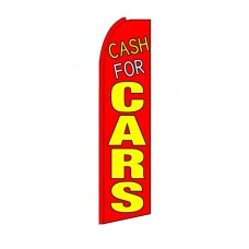 Cash For Cars Swooper Flag