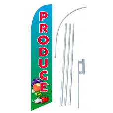 Produce Windless Swooper Flag Bundle