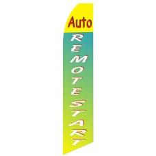 Auto Remote Start Swooper Flag