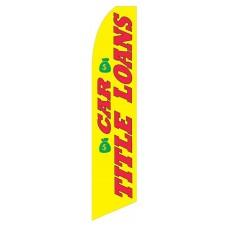 Car Title Loans Swooper Flag