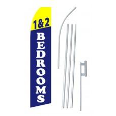 1 & 2 Bedrooms Swooper Flag Bundle