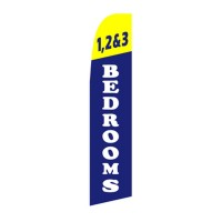 1,2 & 3 Bedrooms Swooper Flag