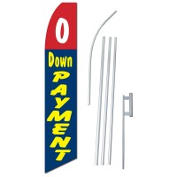 0 Down Payment Swooper Flag Bundle