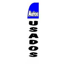Autos Usados (Used Cars) Swooper Flag