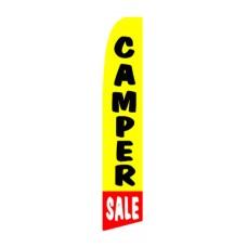 Camper Sale Swooper Flag