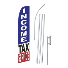Income Tax Service Swooper Flag Bundle