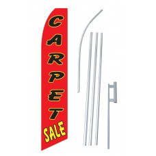 Carpet Sale Red Swooper Flag Bundle