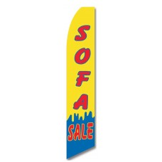 Sofa Sale Y/B Swooper Flag