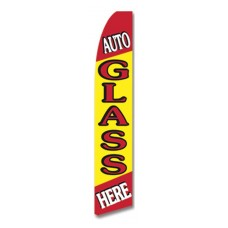 Auto Glass Swooper Flag