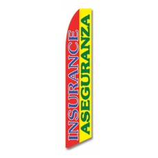 Bilingual Insurance Aseguranza Flag