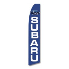 Subaru Blue Swooper Flag