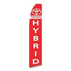 Toyota Hybrid Swooper Flag