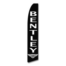 Bentley Black Swooper Flag