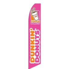 Dunkin' Donuts Swooper Flag