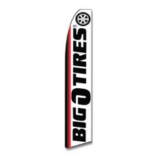 Big O Tires Swooper Flag