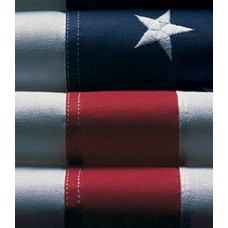 3'x 5' Nylon Glow Embroidered American Flags - BEST!