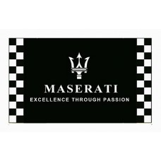 Maserati Checkered Automotive 3' x 5' Flag